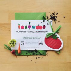 Garden Party Invitations // Collected
