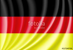"""Download the royalty-free vector """"National flag of germany"""" designed by jackreznor at the lowest price on Fotolia.com. Browse our cheap image bank online to find the perfect stock vector for your marketing projects!"""