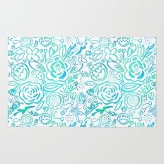 A Profusion of Flowers II Rug