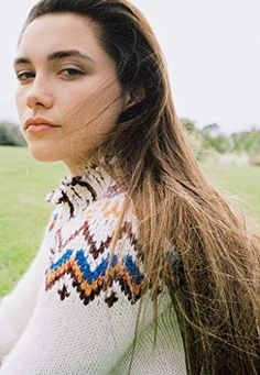 "The ""Lady Macbeth"" actress warms up in Fair Isle knits. Pretty People, Beautiful People, Beautiful Women, Lady Macbeth 2016, Florence Pugh, T Magazine, Celebrity Portraits, English Actresses, Glamour"