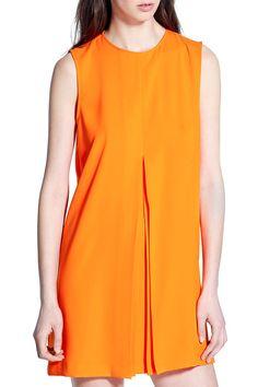 расклешенное платье короткой длины, оранжевого цвета, свободного кроя, для лета Mini, Dresses, Fashion, Gowns, Moda, Fashion Styles, Dress, Vestidos, Fashion Illustrations