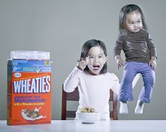 Wheaties, Breakfast of Champions by Jason Lee Funny Pictures For Kids, Funny Kids, Kid Pics, Photography Pics, Children Photography, Creative Portraits, Family Portraits, Jason Lee, Asian Kids
