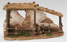 1025 Fontanini 525 Animal Corral Christmas Nativity Village Building 55575 *** You can find more details by visiting the image link. (This is an affiliate link) Christmas Manger, Christmas Nativity Scene, Christmas Diy, Christmas Decorations, Fontanini Nativity, The Nativity Story, Nativity Stable, Christmas Program, Medieval Houses