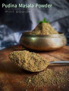 Plant Based Recipes, Veggie Recipes, Vegetarian Recipes, Veggie Food, Rice Recipes, Biryani Recipe, Masala Recipe, Drying Mint Leaves