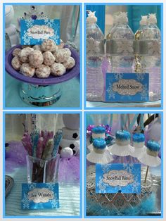 Princess Birthday Party ideas--Frozen inspired Queen Frostine party now at: http://www.myprincesspartytogo.com #frozenparty #frozenbirthdayparty