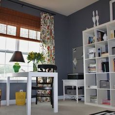 Home Office Expedit Design, Pictures, Remodel, Decor and Ideas