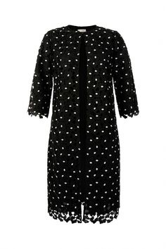 Buy Hobbs Black Lulu Coat from the Next UK online shop Crisp White Shirt, White Shirts, Hobbs Coat, Elegant Woman, Lace Sleeves, Lace Fabric, Coats For Women, Hobby Lobby, Uk Online