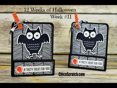 http://mychicnscratch.com/2015/10/12-weeks-halloween-2015-week-11.html Stampin' Up! Demonstrator Angie Kennedy Juda. Check out my blog for more paper craftin...