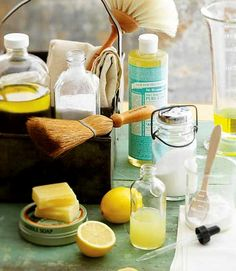 10 Homemade Cleaning Products