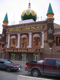 Mitchell, South Dakota - yes, the worlds one and only Corn Palace