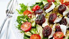 Vuohenjuusto-aprikoosisalaatti - K-ruoka