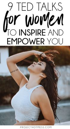 If there's one thing that can inspire and empower you like nothing else it's a good TED Talk, one that gets you thinking and challenging your point of view. These are 9 TED Talks for women that range from what we think of our selves through to ou Boss Babe, Girl Boss, Self Development, Personal Development, Professional Development, Best Ted Talks, Self Improvement Tips, Independent Women, Motivational Words