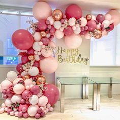 Balloon Arch Diy Discover DIY Retro Dusty Pink Balloon Garland Arch Kit Rose Gold White Balloons for Birthday Baby Shower Weddings Party Decoration Pastel Balloons, Rose Gold Balloons, White Balloons, Wedding Balloons, Birthday Balloons, Birthday Parties, 21st Birthday, 30th Birthday Party Themes, Party Ballons