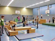 Kasten-Parcour #Sport #Bewegung