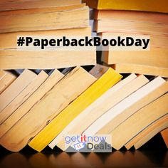 Today is #Paperback #Book Day.  Check out the #bestseller list for your next fav.    #affiliate #booknerdigans #bookgram #reader #booklove #bookaholic #bookaddict #GetItNowDeals #GetItNowDealsco Paperback Books, Best Sellers, Good Books, Day, Check, Great Books
