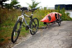 "Brouhaha ""Zero Towing Force"" Bicycle Trailer on Kickstarter"
