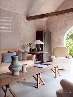 Rustic indoor/outdoor room