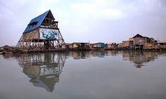 Makoko Floating School, designed by architect Kunlé Adeyemi.