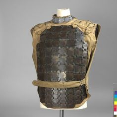 First tried in battle in 1915 body armour was, as far as British usage were concerned, used mainly on an individual basis as it never became a universal issue (it is understood that only enough body armour was available to equip 2% of the army).