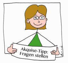 Akquise-Tipp: Fragen stellen, Leonie Walter, Heide Liebmann Akquise-Alphabet F