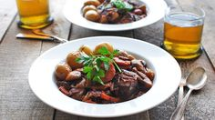 When a recipe is this good, there's no need to rush. Julia Child's Beef Bourguignon is a classic for a reason, and you'll see and taste why.