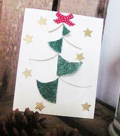 vánoční stromeček pop-up