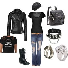 My perfect Zombie Apocalypse outfit (: