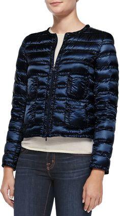 Moncler Lissy Short Puffer Jacket