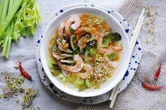 Wietnamska zupa krewetkowa - na Sylwestra i nie tylko! | Blog kulinarny Zakochane w Zupach.pl