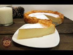 Pastel vasco de arroz. Receta, paso a paso. - YouTube Spanish Cuisine, Spanish Food, Flan, Sweet Treats, Cheesecake, Pudding, Sweets, Snacks, Desserts