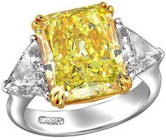 Larry Jewelry presenta una exclusiva colección de diamantes amarillos