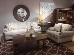 CraftMaster Rachael Ray & Paula Dean featured at Kalin Home Furnishings Ormond Beach, Living Room Seating, Furniture Showroom, Dean, Home Furnishings, Entryway Tables, Home Decor, Decoration Home, Room Decor