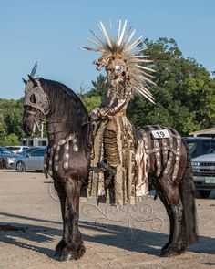New England Friesian Horse Club -  awesome costume!