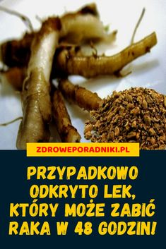 Przypadkowo odkryto lek, który może zabić raka w 48 godzin! Herbal Remedies, Natural Remedies, Health Anxiety, Health Trends, Health Motivation, Herbalism, Health Fitness, Herbs