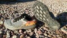 The HOKA ONE ONE Speed Instinct is a lightweight neutral trail racer that features a wider toe box which is a bit of departure in last for HOKA. The combination of ample soft cushioning with a racing flat feel is a must try for any trail runner