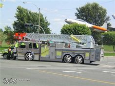 Pimped out fire trucks | Wow, never seen a pimped out rescue truck before ;-)