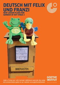 Deutsch mit Felix & Franzi, primary German resources from the Goethe-Institut. Some fun songs for young kids.