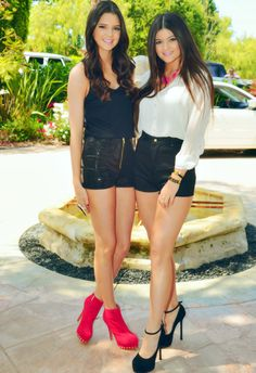 Kendall & Kylie Jenner! They always have the best outfits!