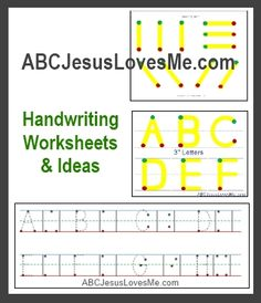ABC and 123 Tracing