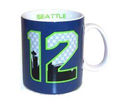 Seattle Seahawks 12th Man Coffee Mug