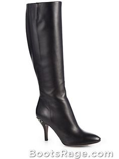 Elizabeth Leather Boots - Women Boots And Booties