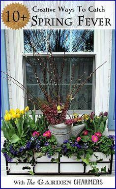 10 Creative Ways To Catch Spring Fever #springfever