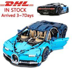Car Building Speed Bugatti Blocks Model Toys New Boys Bricks Technic Kids Sports