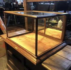 Display Case, Entryway Tables, Furniture, Home Decor, Glass Display Case, Display Window, Decoration Home, Room Decor, Home Furniture