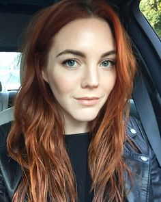 My favorite hair color: pumpkin spice. Allison McNamara
