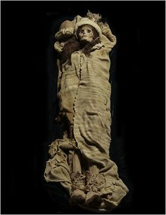 A 3,800-year-old mummy, the Beauty of Xiaohe, found at the Small River Cemetery