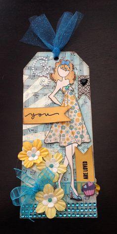 Prima Doll Stamp, Kate