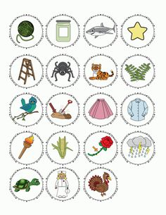 FREE r-controlled vowel pictures for sorting or for creating you own r-contolled vowel sticks.