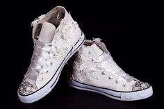 Wedding converse, comfy wedding feet, customised wedding sneakers, happy feet. Wedding shoes, alternative,