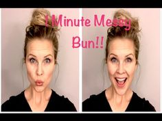 The Perfect Messy Bun in 3 Easy Steps How to create the perfect messy bun in three quick and easy steps. This messy bun tutorial is chic yet effortless and only takes a few minutes. Easy Messy Bun, Perfect Messy Bun, Messy Bun Thin Hair, Messy Top Knots, Hair Buns, Cute Bun Hairstyles, Wedding Hairstyles, Updo Hairstyle, Hair Videos